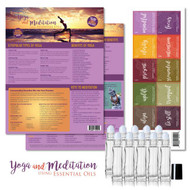 Yoga & Meditation Rollerball DIY Kit for Essential Oils