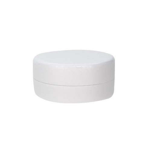 3ml White Plastic Sample Jars For Essential Oil Lip Balms, Cream, Lotions and Blends