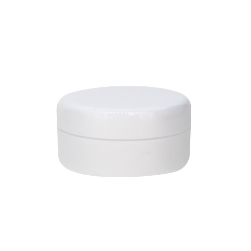 5ml White Plastic Sample Jars For Essential Oil Lip Balms, Cream, Lotions and Blends