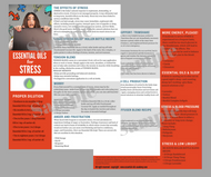 Essential Oils for Stress | Unlimited Printing Digital Tear Pad