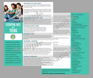 Essential Oils for Teens | Unlimited Printing Digital Tear Pad