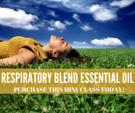 Respiratory Blend Essential Oil Mini Online Social Media Class