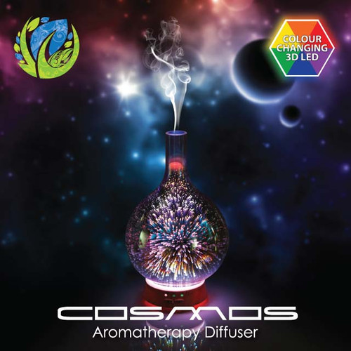 Cosmos Glass Aromatherapy Diffuser for Essential Oils and Humidification