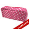 Hot Pink with White Dots Essential Oil Travel Bag