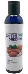 GOS Sweet Almond Carrier Oil For Essential Oil Blends | 6 fl oz