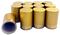 12 Matte Gold Roller Bottle Lids for 10ml and 1/6oz Roller Bottles