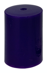 Purple Roller Bottle Lids for 10ml and 1/6 oz Roller Bottles