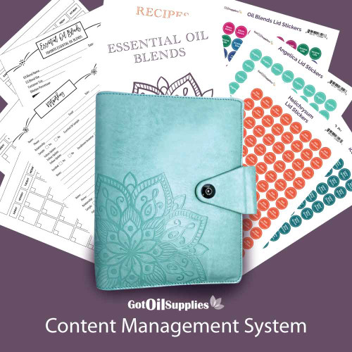 YL Content Management System for Essential Oils