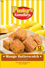 Pinky's Goodies Mango Butterscotch Bars