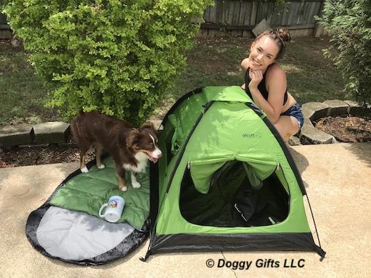 Alcott Pup Tent + Dog Sleeping Bag