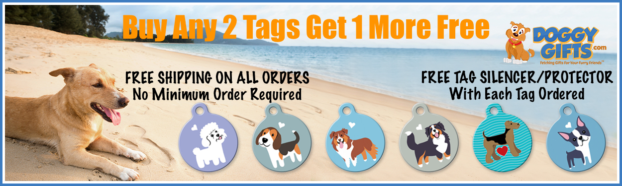 Personalized Dog Tags Buy More Save More + Free Shipping