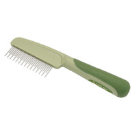 Safari by Coastal Pet Shedding Dog Comb with Rotating Teeth