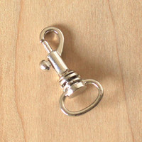 Dog Tag Collar Attachment - Bolt Snap Clip Swivel