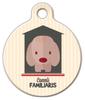 Dog Tag Art Cannis Familiaris Pet ID Dog Tag