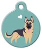 Dog Tag Art German Shepherd Doggie Pet ID Dog Tag