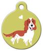 Dog Tag Art Welsh Springer Spaniel Doggie Pet ID Dog Tag