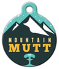 Dog Tag Art Cool Mountain Mutt Pet ID Dog Tag