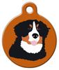 Dog Tag Art Bernese Mountain Dog Pet ID Dog Tag