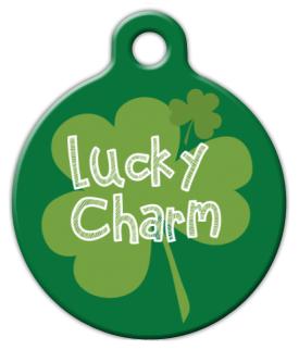 Dog Tag Art Lucky Charm Pet ID Dog Tag
