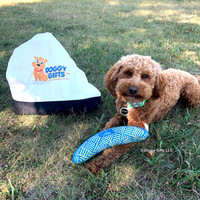 konatheminidood loves his Coastal Pet Rascals Fetch Boomerang Dog Toy