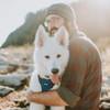 Coastal Pet Reflective Control Handle Dog Harness Blue On Dog