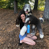 Henrythesheepadoodle and Mom having fun in his Coastal Pet Inspire