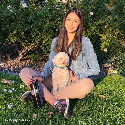 Stella looks beautiful in her Inspire dog collar