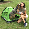 Nessie and Mom love their Alcott Pup Tent