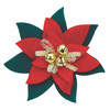 Celebration by Coastal Collar Accessories (45310) Poinsettia