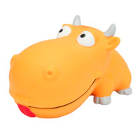 Rascals Grunt Dog Toy Big Head Bull (83083RNCLDOG)