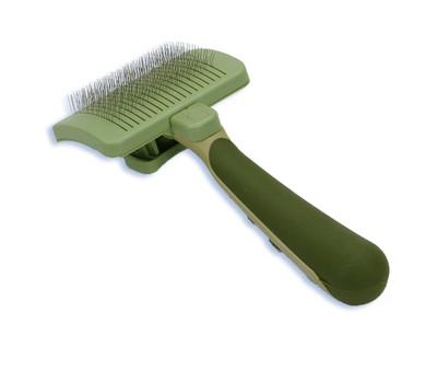 Safari by Coastal Pet Self-Cleaning Slicker Brush, Large