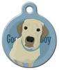 Dog Tag Art Good Boy Labrador Retriever Pet ID Dog Tag