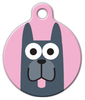 Dog Tag Art Great Dane Girl Pet ID Dog Tag