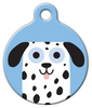 Dog Tag Art Dalmatian Boy Pet ID Dog Tag