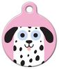 Dog Tag Art Dalmatian Girl Pet ID Dog Tag