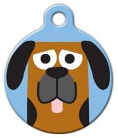Dog Tag Art Blood Hound Boy Pet ID Dog Tag
