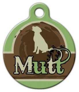 Dog Tag Art Mutt Tail Pet ID Dog Tag
