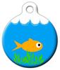 Dog Tag Art Fish Bowl Pet ID Dog Tag