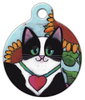 Dog Tag Art Tuxedo Pet ID Dog Tag