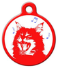 Dog Tag Art Meow Mix Pet ID Dog Tag