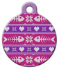 Dog Tag Art Ugly Ladies' Sweater Pet ID Dog Tag