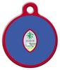 Dog Tag Art Flag of Guam Pet ID Dog Tag