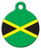 Dog Tag Art Jamaican National Flag Pet ID Dog Tag
