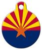Dog Tag Art Arizona Flag Pet ID Dog Tag