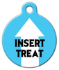 Dog Tag Art Insert Treat Pet ID Dog Tag