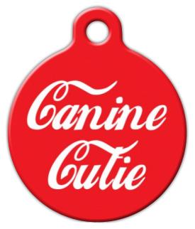 Dog Tag Art Canine Cutie Pet ID Dog Tag