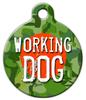 Dog Tag Art Working Dog Pet ID Dog Tag