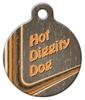 Dog Tag Art Retro Swoop Pet ID Dog Tag
