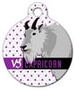 Dog Tag Art Capricorn Pet ID Dog Tag