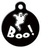 Dog Tag Art Boo! Pet ID Dog Tag